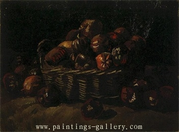 Still Life with Basket of Apples 2